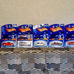 Hotwheels toy cars 2002